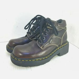 Dr. Doc Martens  9271 Ankle Boots Brown Size 6 US